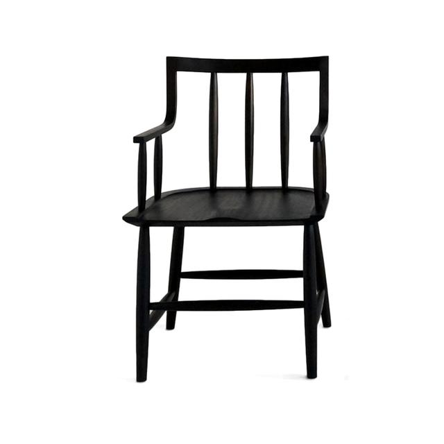 Sawkille Oxidized Cherry Senate Chair