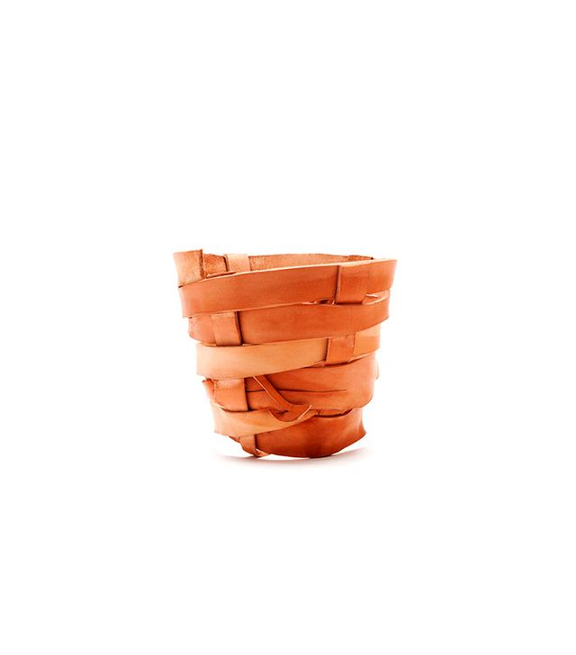 All Hands Leather Planter