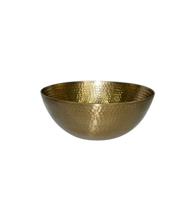 Target Threshold Metal Hammered Small Serving Bowl