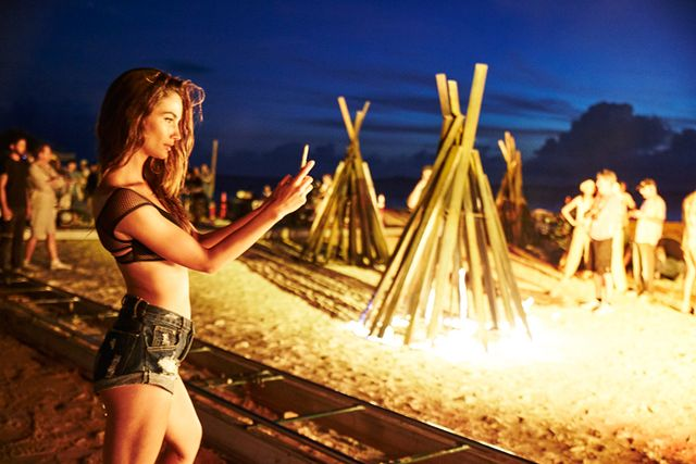<p>LIly Aldridge</p>  <p><strong>Don't forget: Tune into the the show February 26 on CBS! And tell us about your first summer romance in the comments below.</strong></p>