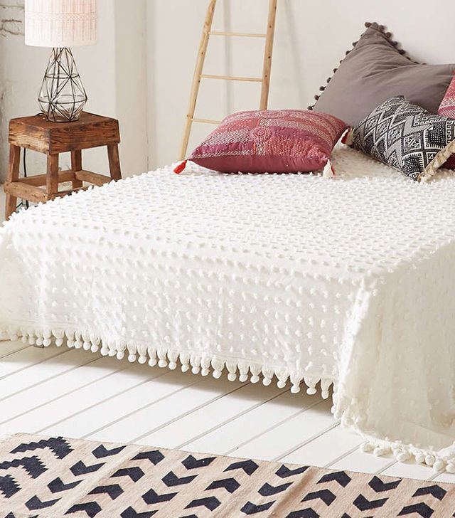 Urban Outfitters Tufted Dot Coverlet