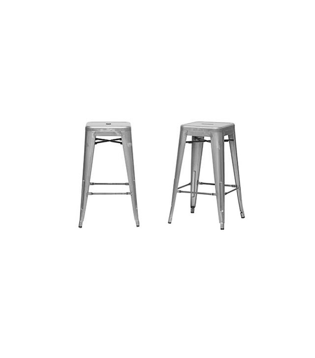 Baxton French Industrial Modern Counter Stool