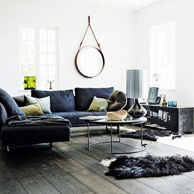 Shop the Room: A Moody Lake House Living Room