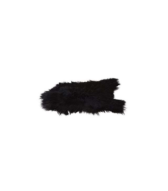 Black Sheep (white light) Icelandic Sheepskin 58
