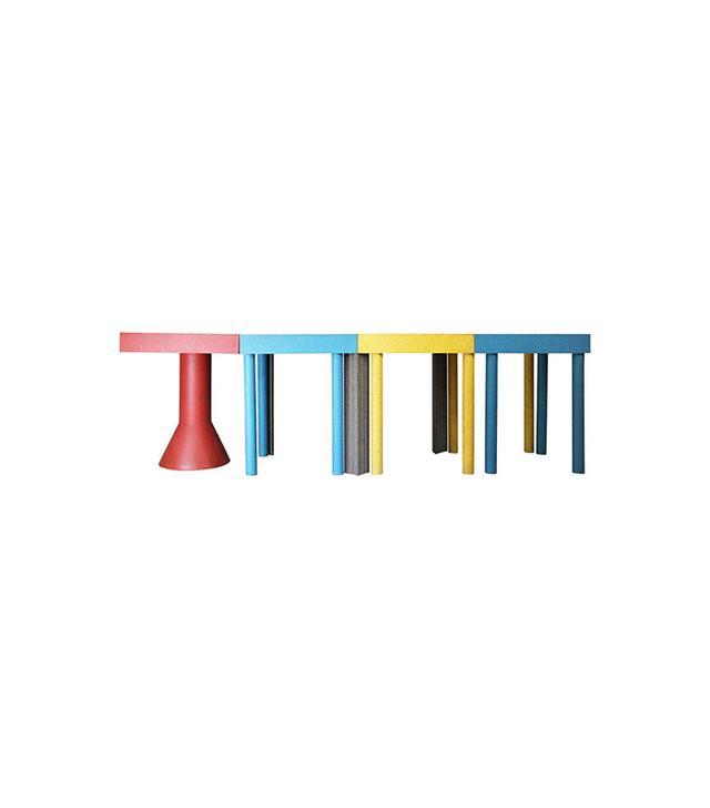 Massimo Morozzi for Memphis Tangram Tables