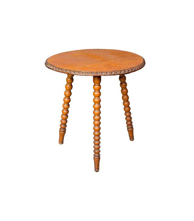 Westenholz Antiques Circular Bobbin Table