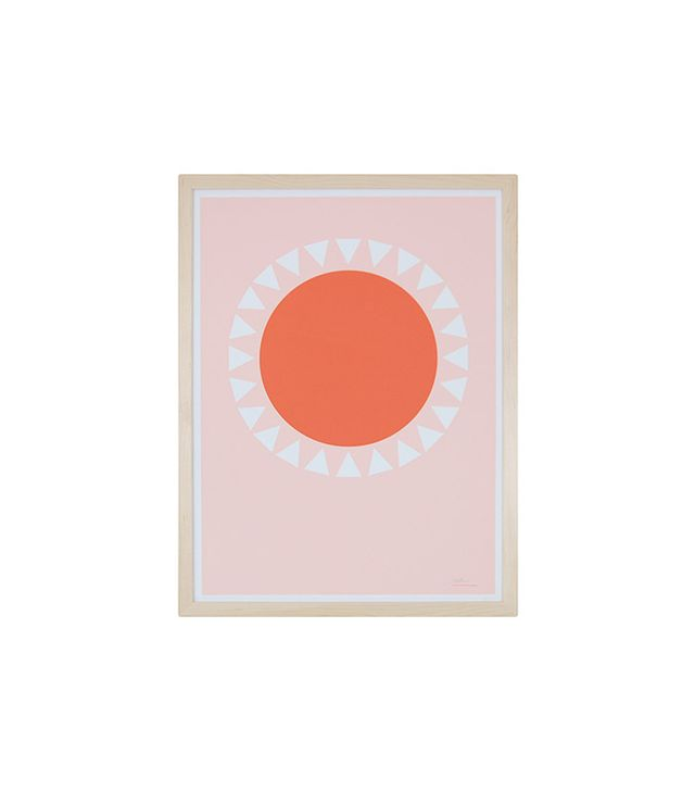 """Orange Sun"" by Becky Hui Chan"