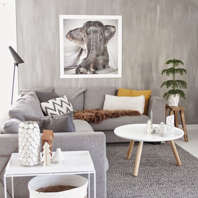 Get the Look: A Cosy, Wintry Living Room