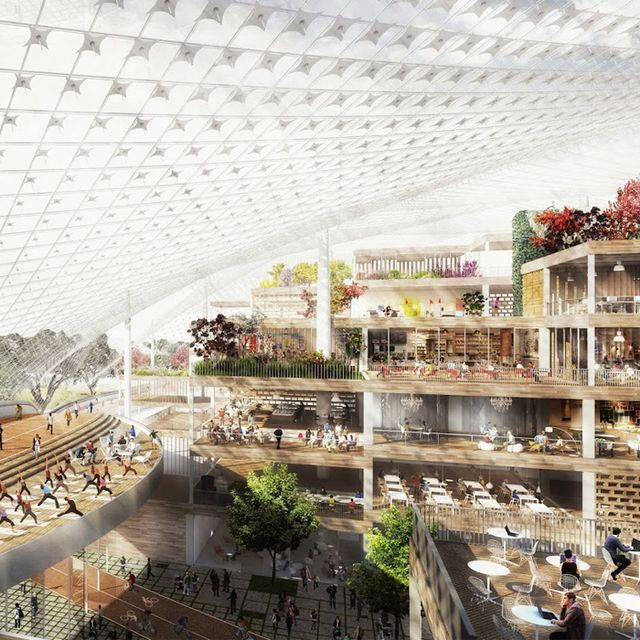 Google's New Headquarters Are Going to Be Insane—and Portable