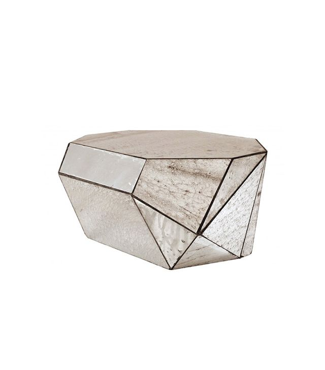 Jayson Home Faceted Mirror Coffee Table