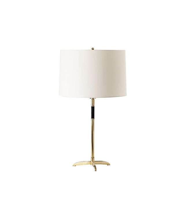 Serena & Lily Cole Brass Table Lamp
