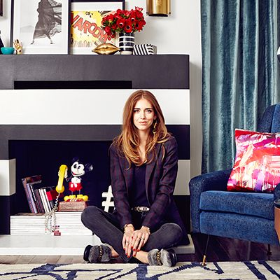 Home Tour: Chiara Ferragni's Pop-Chic Los Angeles Home
