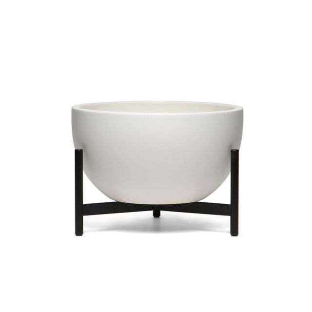 Modernica Case Study Ceramic Bowl with Metal Stand