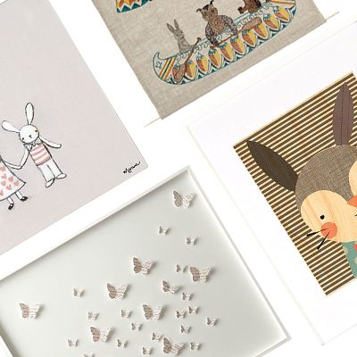 Absolutely Adorable Art Pieces for Kids' Rooms
