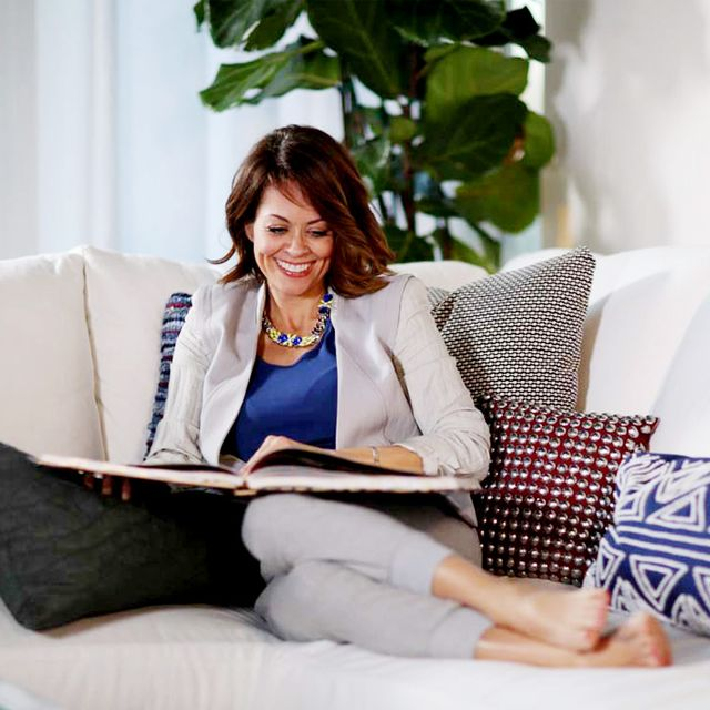 Before and After: Brooke Burke's Feminine-Chic Retreat