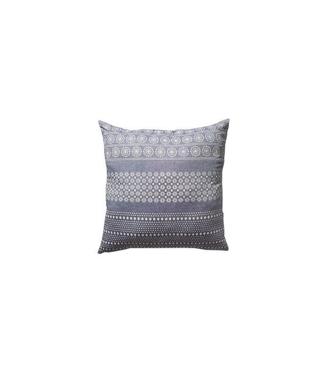 Anthropologie Tiered Fringe Pillow