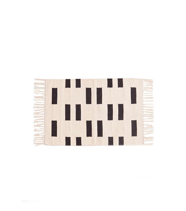 4040 Locust Geo-Block Woven Rug