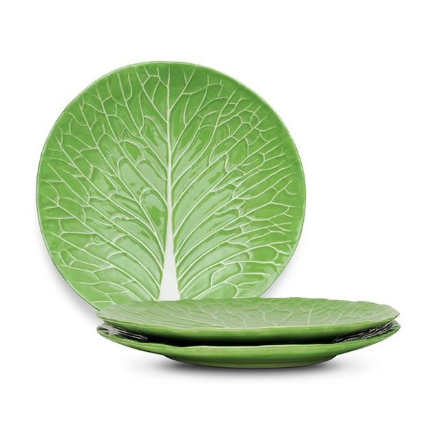 Dodie Thayer for Tory Burch Lettuce Ware Dinner Plate