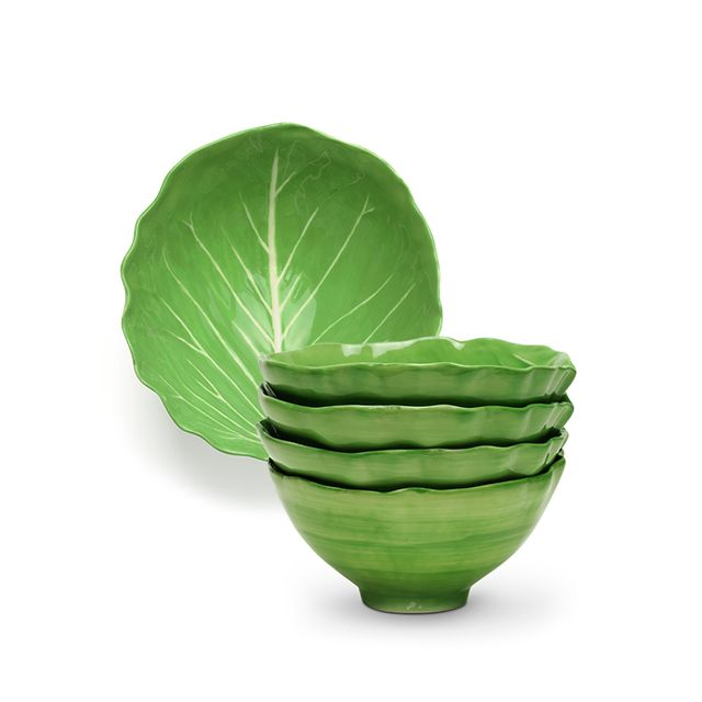 Dodie Thayer for Tory Burch Lettuce Ware Soup Bowl