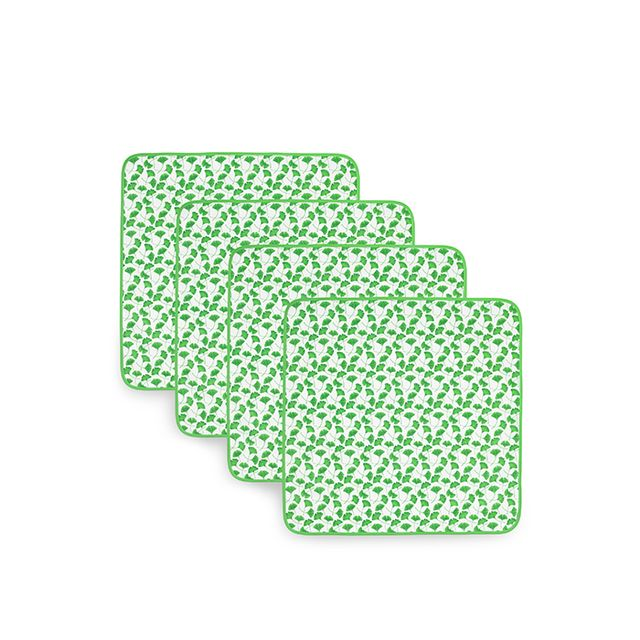 Dodie Thayer for Tory Burch Ginkgo Dinner Napkins