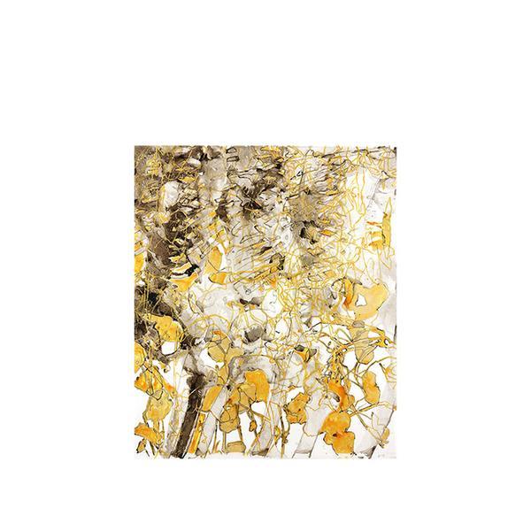 """Nasturtium With Gold"" by Katina Huston"