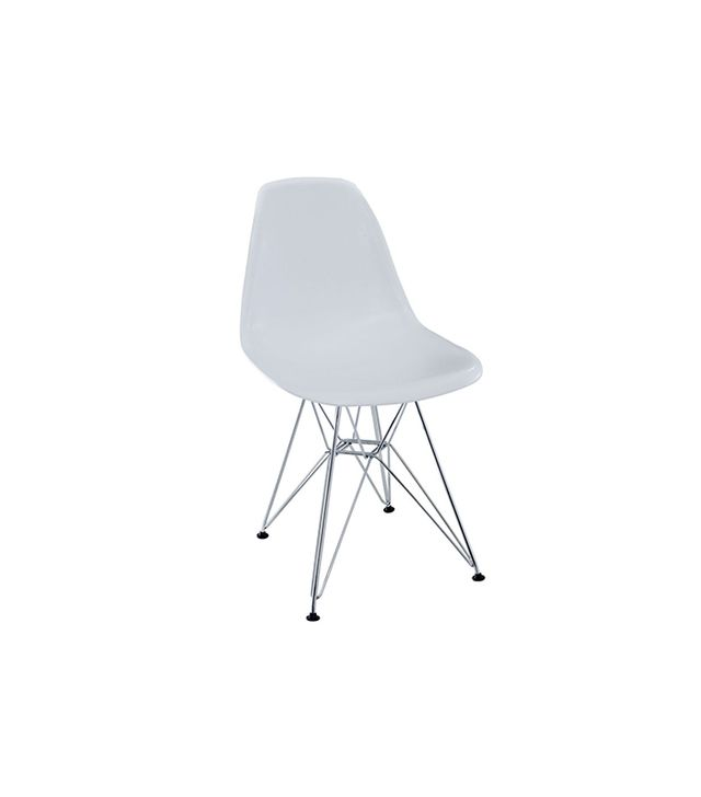 Charles and Ray Eames Eiffel Dining Side Chair White