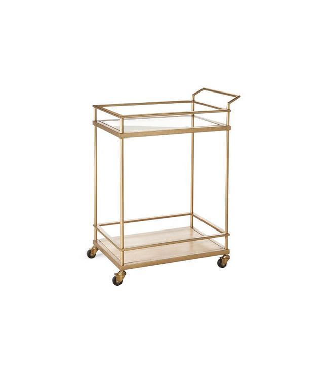 Target Threshold Bar Cart in Gold