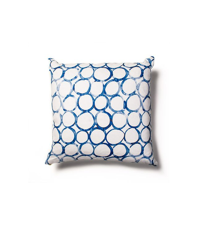 Rebecca Atwood Overlapping Circles Reversible Pillow