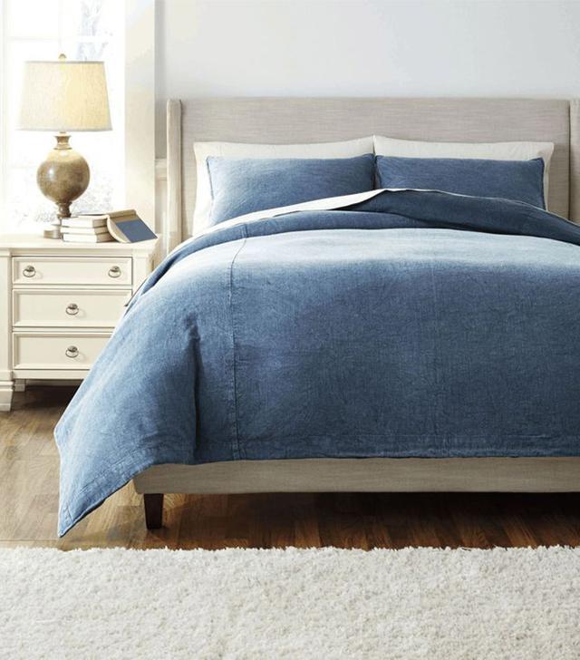 Coleman Furniture Solid King Duvet Set