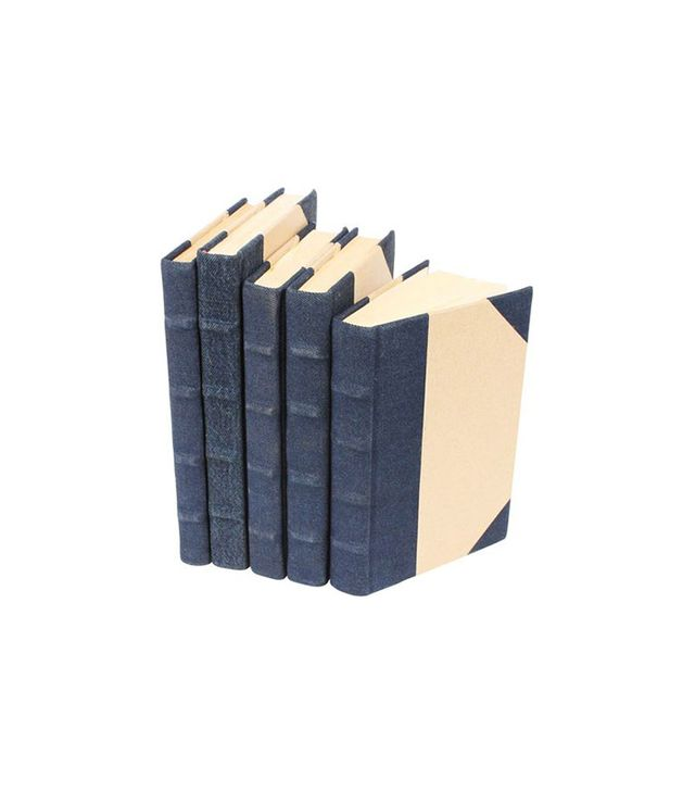 One Kings Lane Canvas-Bound Books