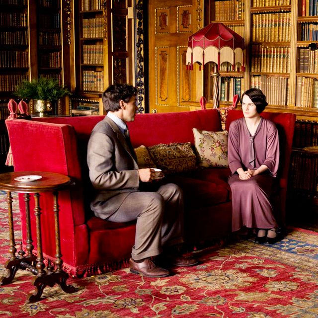 The Downton Abbey Sofa Is For Sale at One Kings Lane!