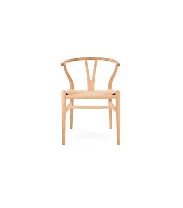 Hans Wegner Oak Wishbone Chair
