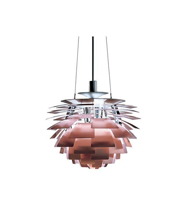 Poul Henningsen for Louis Poulsen Lighting Artichoke Lamp, Copper