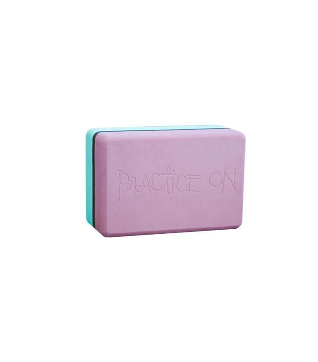 Manduka Two-Tone Recycled Foam Yoga Block