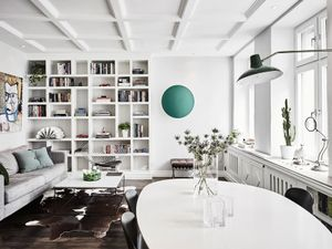 Inside a Charming Swedish Flat With Lovely Decorative Details