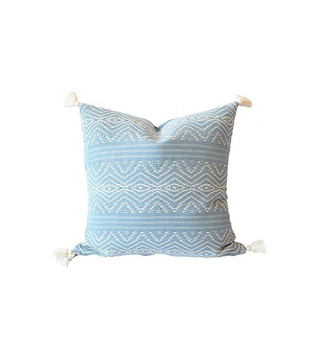 Lulu & Georgia Alegria Home Jaya Woven Tassled Pillow