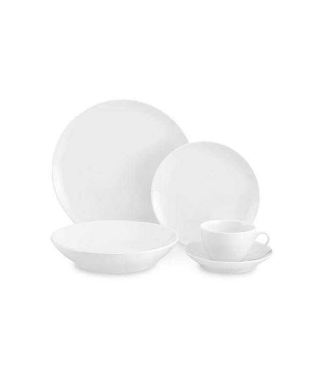 Pillivuyt Coupe 5-Piece Porcelain Place Setting
