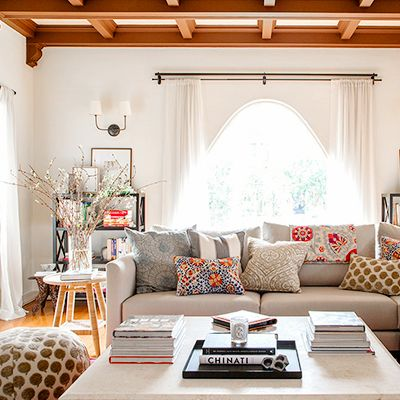 Before and After: A Family's Serene Bohemian Space