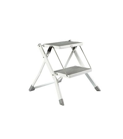The Container Store Slim Folding Step Stool