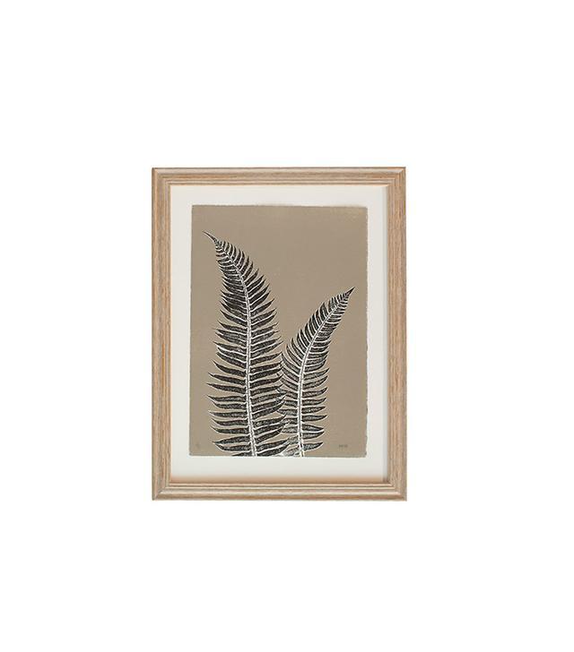 "Serena & Lily ""Grey Fern Study #1"" by Mary Margaret Briggs"