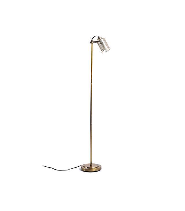 Urban Outfitters Celia Mercury Glass Floor Lamp