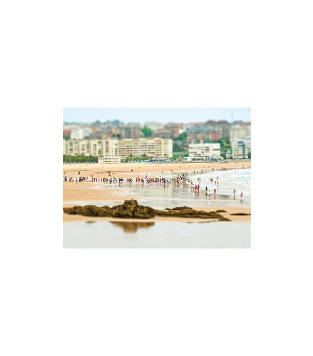 Artstar Santander Beach Print