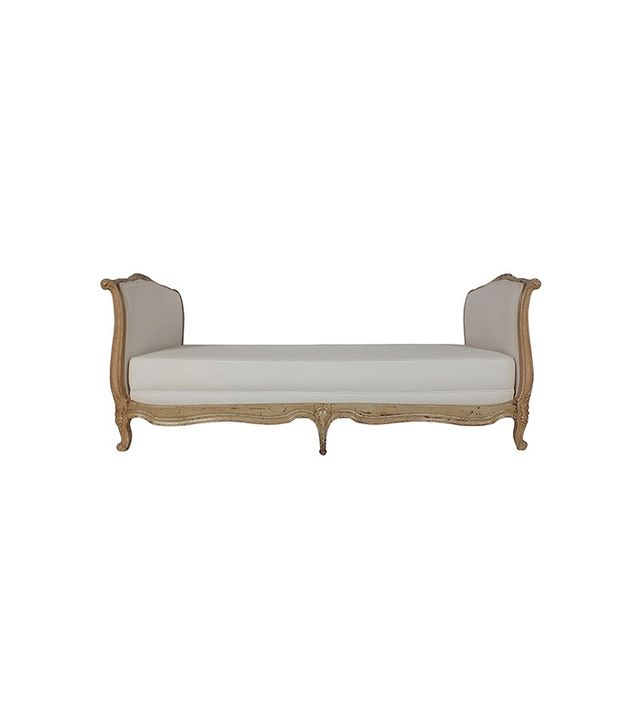 1stdibs French Louis XV-Style Carved Daybed