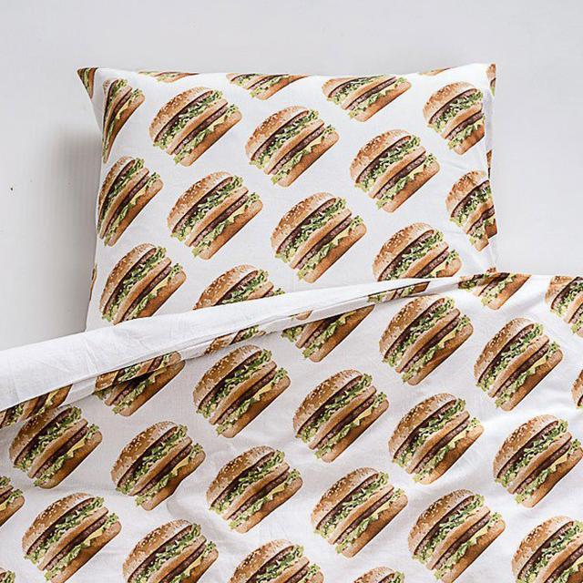 Would You Buy McDonald's Big Mac Bedding?
