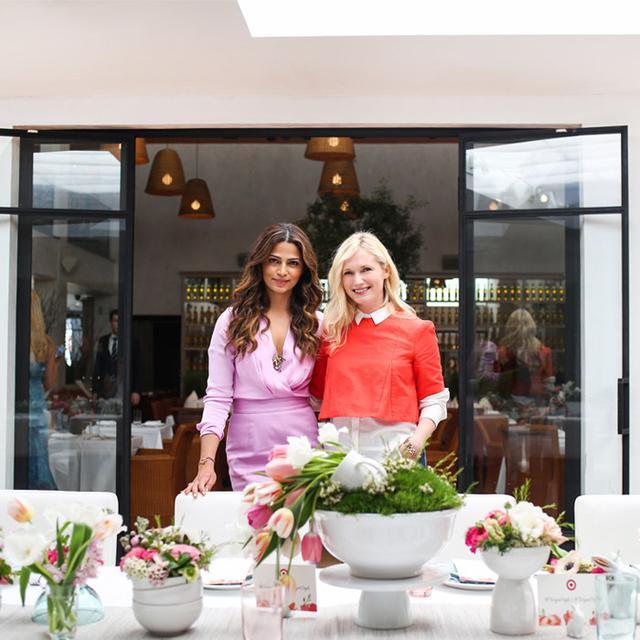 Emily Henderson and Camila Alves Host a Dream Spring Brunch