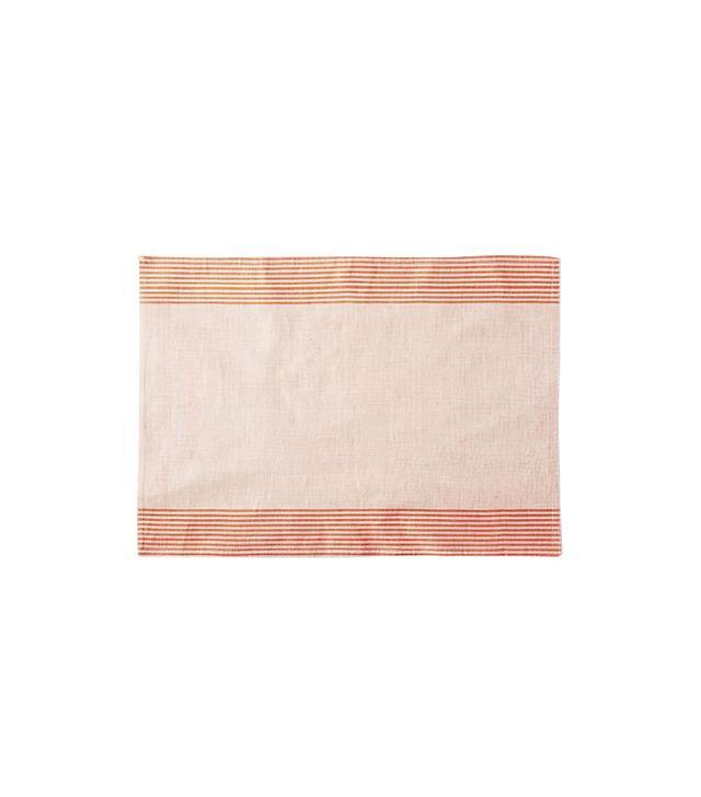West Elm Border Stripe Yarn Dye Placemat Set