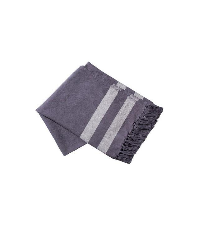 Target Woven Throw in Dark Grey