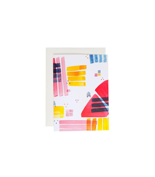 Maggie Chiang Colour Block Card