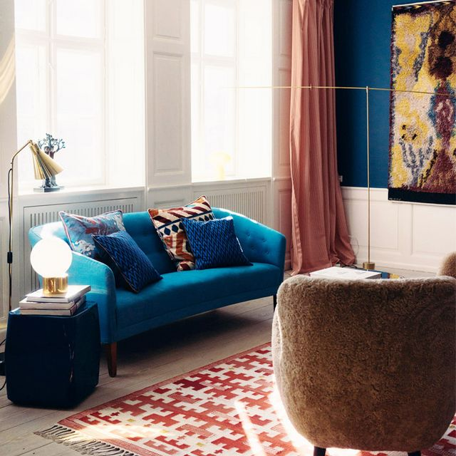 Inside a Danish Apartment With a Bold Use of Colour