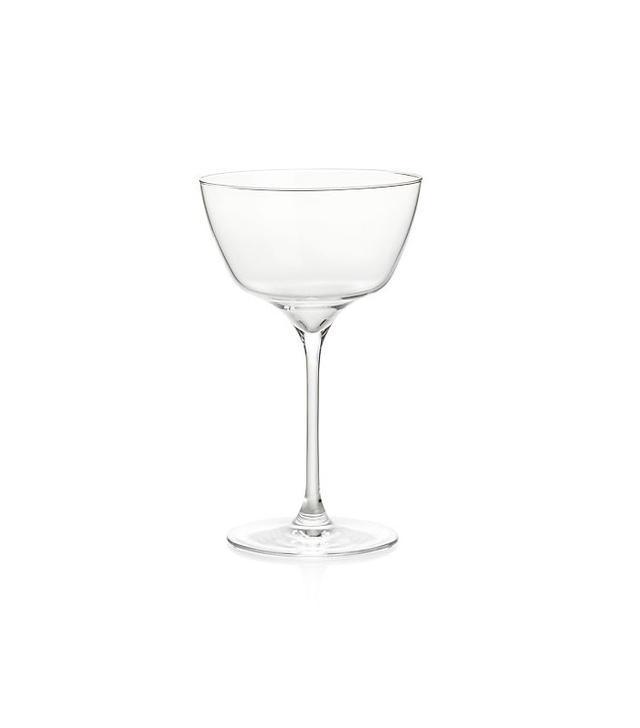 Crate & Barrel Jasper Cocktail Glass